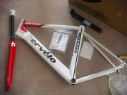 2009 Cervelo R3 (white),   Pinarello Prince,  Argon 18 E-114,   Scott CR